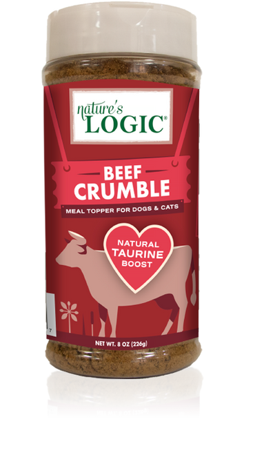 Nature's Logic Beef Crumble Topper 8oz