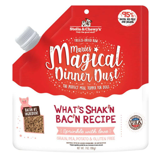 Stella & Chewy's Magical Dinner Dust What's Shak'n Bac'n 7oz