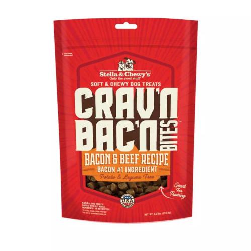 Stella & Chewy's Crav'n Bac'n Bites Bacon & Beef Recipe 8.25oz