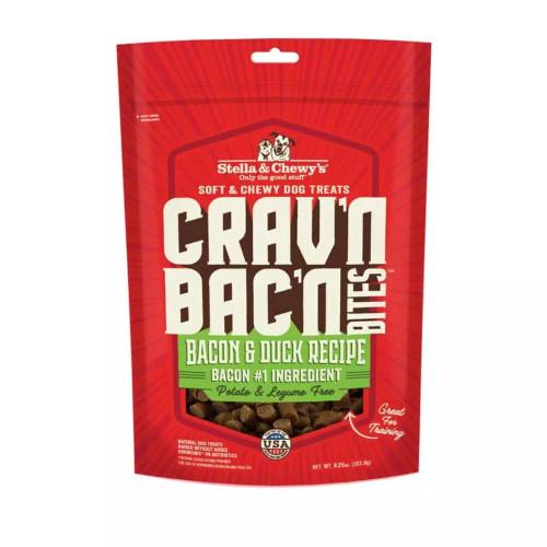 Stella & Chewy's Crav'n Bac'n Bites Bacon & Duck Recipe 8.25oz