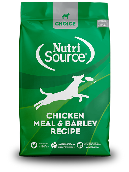 NutriSource Choice Chicken Meal & Barley Recipe