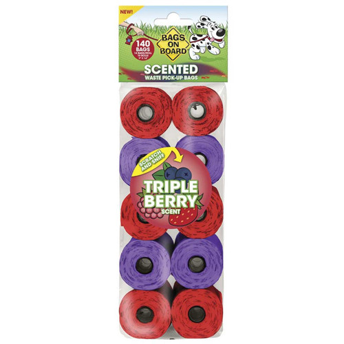 Bags On Board Triple Berry 140ct