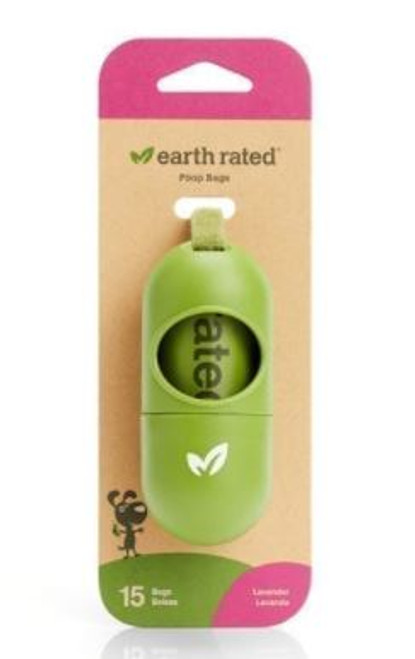 Earth Rated Leash Dispenser Lavender w/ 15 Bags