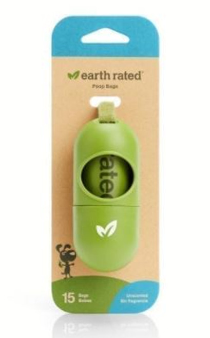 Earth Rated Leash Dispenser Unscented w/ 15 Bags