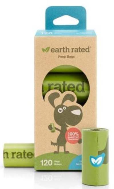 Earth Rated Unscented Poop Bags 120ct
