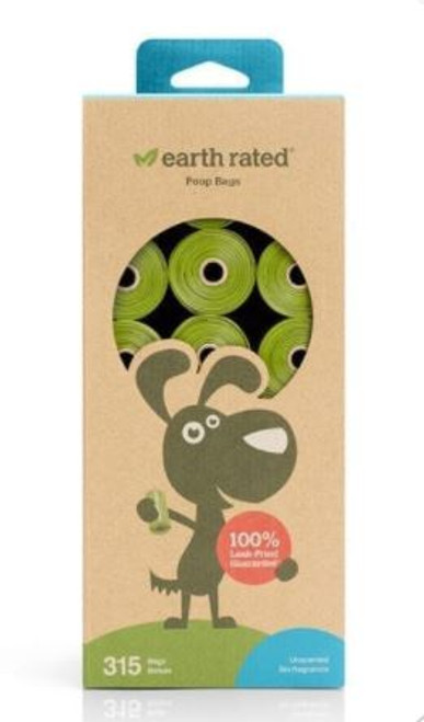 Earth Rated Unscented Poop Bags 315ct