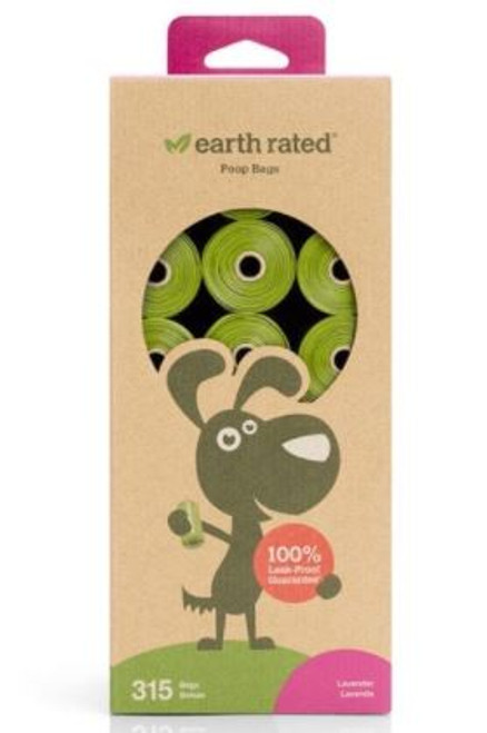 Earth Rated Lavender Poop Bags 315ct