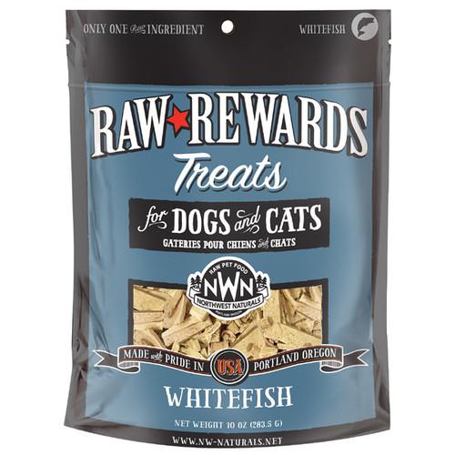 Northwest Naturals Raw Rewards Freeze Dried Whitefish Treats 10oz