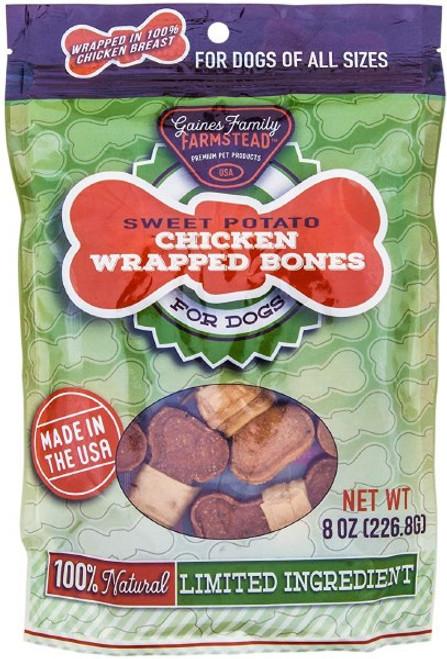 Gaines Family Farmstead Chicken Wrapped Sweet Potato Bones 8oz