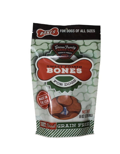 Gaines Family Farmstead Sweet Potato Bones 8oz