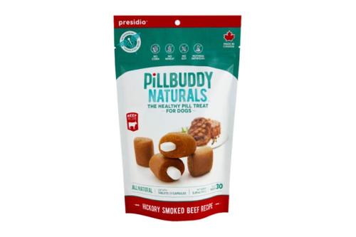 Presidio Pill Buddy Hickory Smoked Beef Flavor 30ct