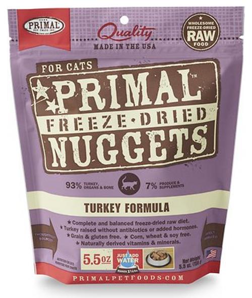 Primal Freeze-Dried Feline Turkey 5.5oz