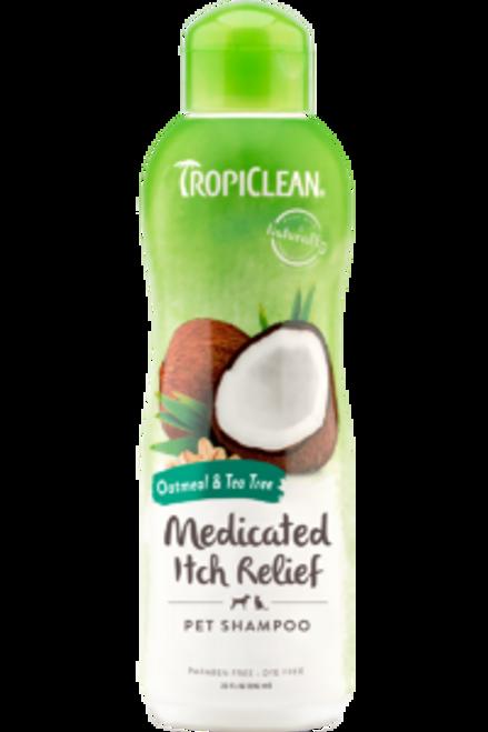 Tropiclean Oatmeal & Tea Tree Shampoo 20oz