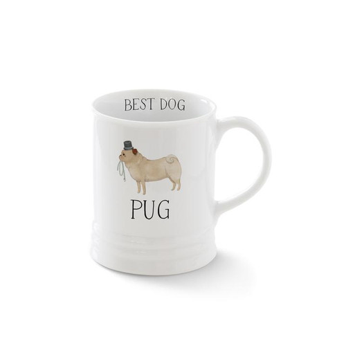Pet Shop by Fringe Studio Breed Mug Pug 12oz