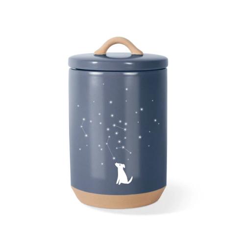 Pet Shop by Fringe Studio Stoneware Treat Jar Celestial