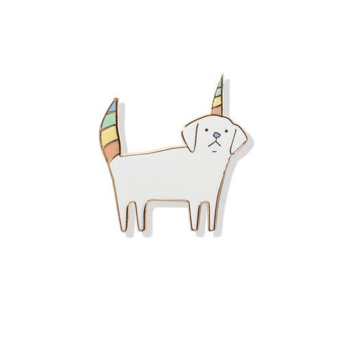 Pet Shop by Fringe Studio Dogicorn Enamel Pin