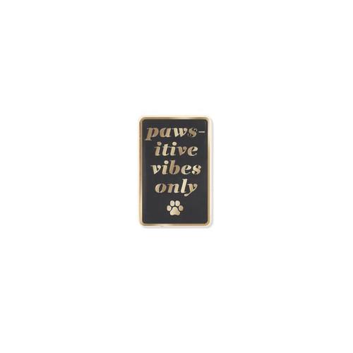Pet Shop by Fringe Studio Pawsitive Vibes Enamel Pin