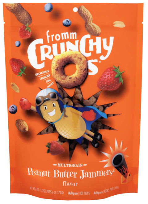Fromm Crunchy O's Peanut Butter Jammers 6oz
