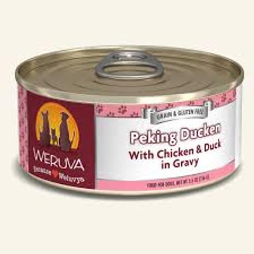 Weruva Peking Duck With Chicken & Duck in Gravy 5.5oz