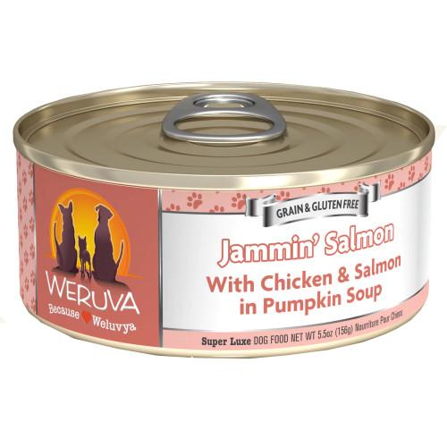 Weruva Jammin' Salmon With Chicken & Salmon in Pumpkin Soup 5.5oz