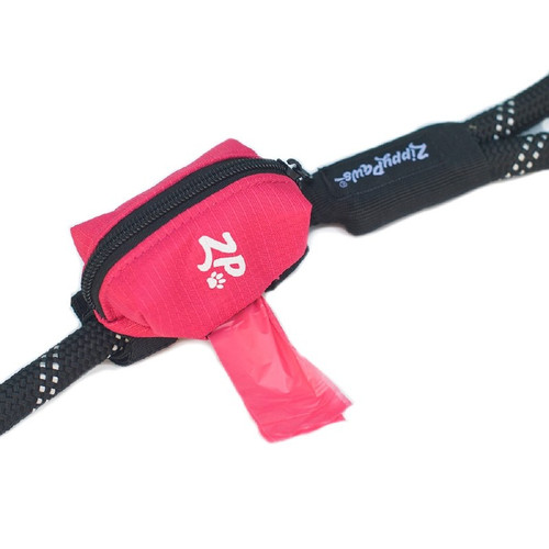 Zippy Paws Leash Bag Dispenser Pink