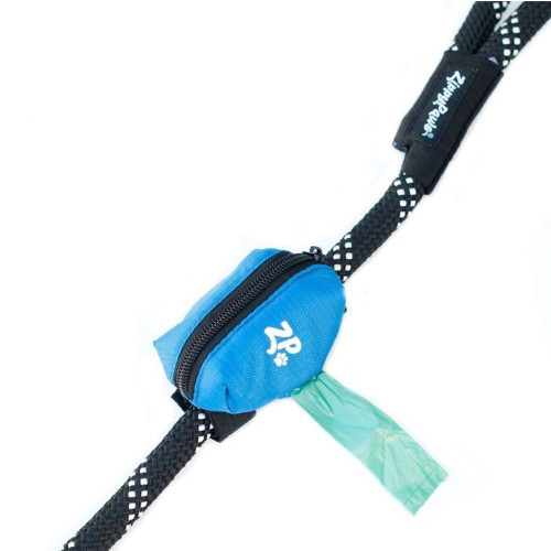 Zippy Paws Leash Bag Dispenser Blue