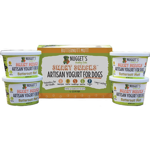 Nugget's Butternutt Mutt Frozen Yogurt 3.5oz