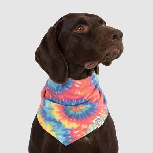 Canada Pooch Tie Dye Reversible Bandana