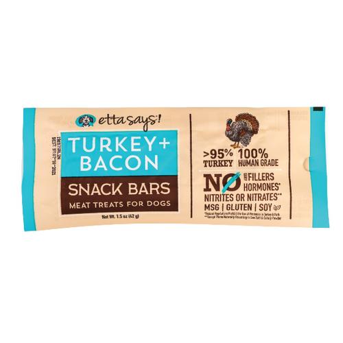 Etta Says Turkey/Bacon Snack Bars 1.5oz