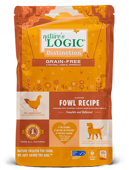 Nature's Logic Distinction Fowl Recipe