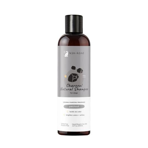 Kin+Kind Charcoal Shampoo 12oz
