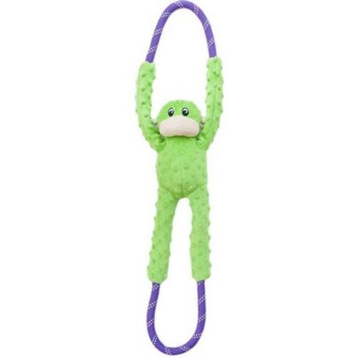 Zippy Paws RopeTugz Monkey Green
