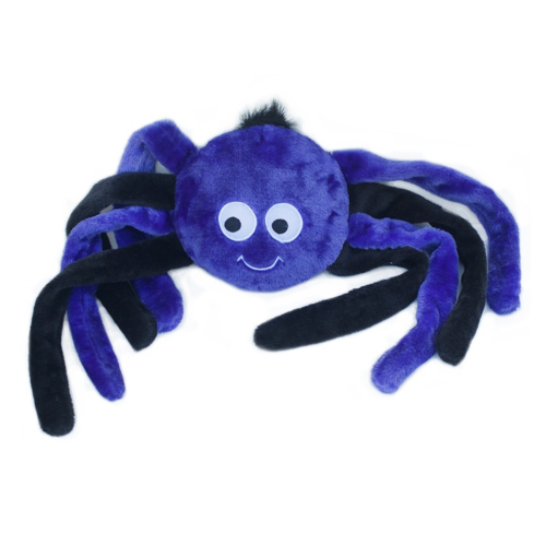 Zippy Paws Crinkle Spider Purple LG