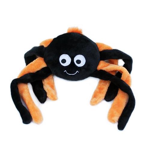 Zippy Paws Crinkle Spider Orange