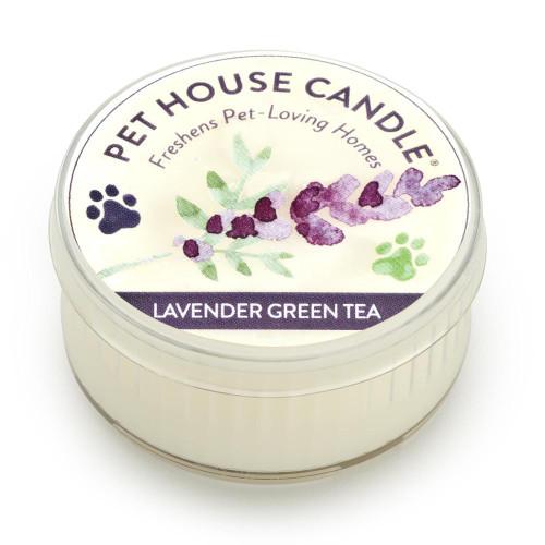 One Fur All Lavender Green Tea Mini Candle