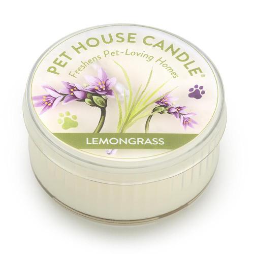 One Fur All Lemongrass Mini Candle