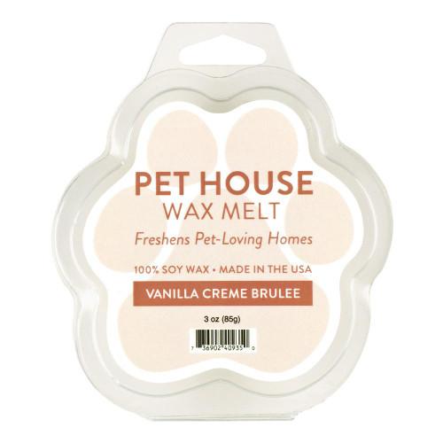 One Fur All Vanilla Creme Brulee Wax Melt