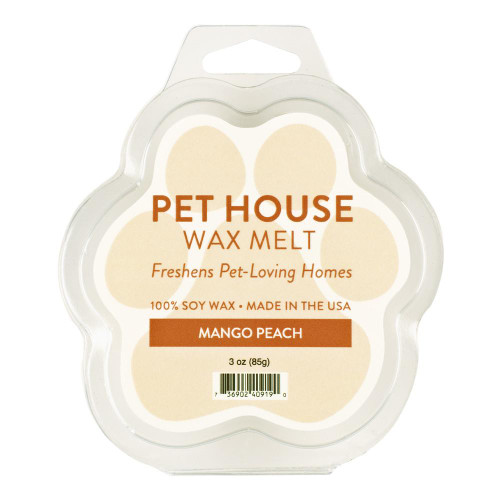 One Fur All Mango Peach Wax Melt
