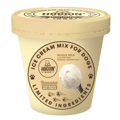 Hoggin' Dogs Ice Cream Mix Banana