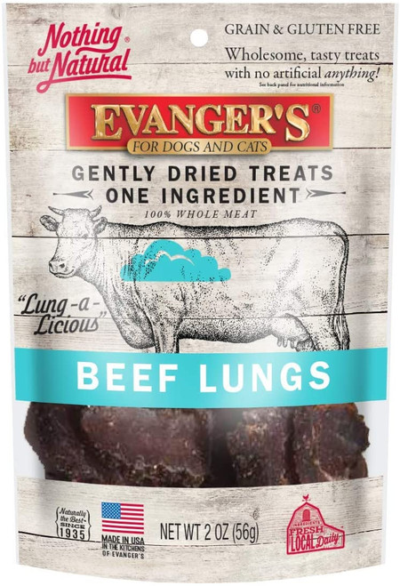 Evanger's Beef Lung Treats