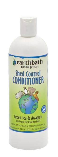 Earthbath Shed Control Green Tea & Awapuhi Conditioner  16 oz.