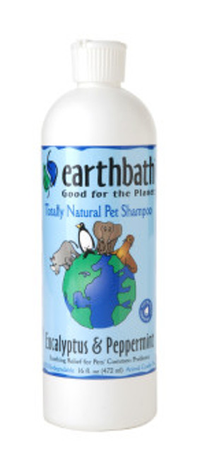 Earthbath Eucalyptus & Peppermint Shampoo 16oz