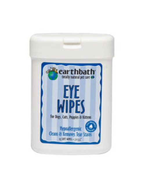 Earthbath Eye Wipes 25 Ct