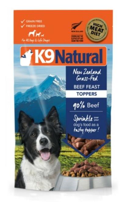 K9 Natural Beef Feast Topper 5oz