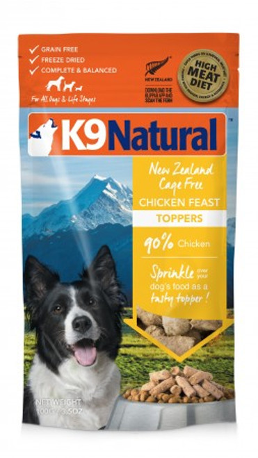 K9 Natural Chicken Feast Topper 5oz
