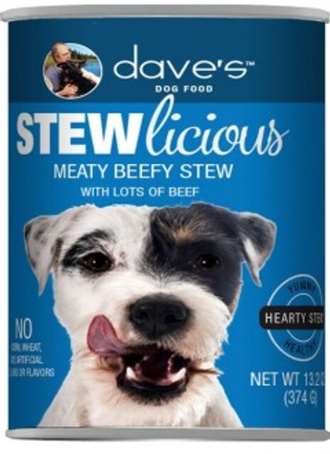 Dave's Stewlicious Meaty Beef Stew