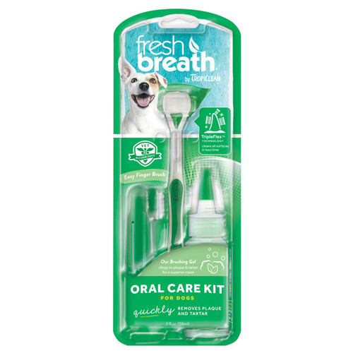 Tropiclean Oral Care Kit Medium and Large Dog