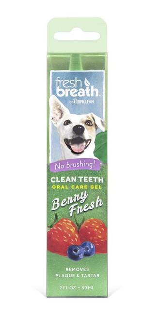 Tropiclean Fresh Breath Berry Gel 2oz