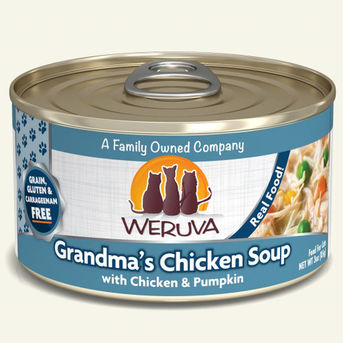 Weruva Grandma's Chicken Soup – With Chicken & Pumpkin