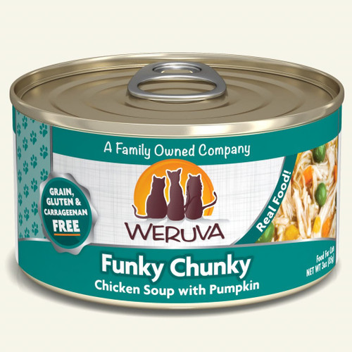 Weruva Funky Chunky – Chicken Soup with Pumpkin
